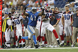 June 8, 2017 - (File Photo) - A body found in an Indiana river on Wednesday has been identified by the county's coroner as former Buffalo Bills receiver And IU football star James Hardy, 31, of Fort Wayne. PICTURED: Sep. 02, 2010 - Detroit, Mi, Michigan, United States of America - Detroit Lions cornerback Dante Wesley (41) knocks the ball away from Buffalo Bills wide receiver JAMES HARDY (84) during the third quarter at Ford Field. Detroit Lions defeated Buffalo Bills 28 - 23 at Ford Field. (Credit Image: © Rey Del Rio/SCG/ZUMAPRESS.com)