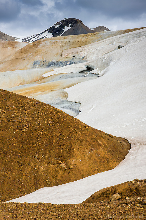 Kerlingarfjöll geothermal area, Highlands of Iceland.