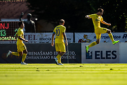 Vuklisevic Damjan of NK Domzale with Ibricic Senijad of NK Domzale during football match between NK Triglav and NK Domzale in 9th Round of Prva liga Telekom Slovenije 2019/20, on September 15, 2019 in Sport park Kranj, Kranj, Slovenia. Photo by Grega Valancic / Sportida