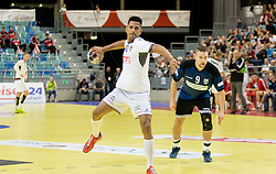 02.11.2016, Arena Nova, Wiener Neustadt, AUT, EHF, Handball EM Qualifikation, Österreich vs Finnland, Gruppe 3, im Bild Raul Santos (AUT)// during the EHF Handball European Championship 2018, Group 3, Qualifier Match between Austria and Finland at the Arena Nova, Wiener Neustadt, Austria on 2016/11/02. EXPA Pictures © 2016, PhotoCredit: EXPA/ Sebastian Pucher