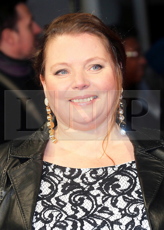 © London News Pictures. Joanna Scanlan, The Invisible Woman - UK film premiere, Odeon Kensington High Street, London UK, 27 January 2014. Photo credit: Richard Goldschmidt/LNP