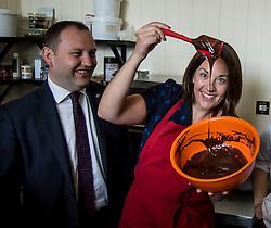Scottish Labour leader Kezia Dugdale Edward &amp; Irwyn chocolatiers in Edinburgh, as part of Labour's push to retain the Edinburgh South seat for Ian Murray.<br /> <br /> &copy; Dave Johnston/ EEm
