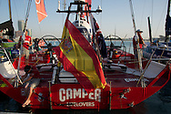 13.01.2012, Abu Dhabi. Volvo Ocean Race, abu dhabi in port race, camper emirate new zealand boat, 3d place winner
