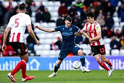 Ollie Clarke of Bristol Rovers takes on Luke O'Nien of Sunderland - Mandatory by-line: Robbie Stephenson/JMP - 22/02/2020 - FOOTBALL - Stadium of Light - Sunderland, England - Sunderland v Bristol Rovers - Sky Bet League One