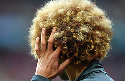 Marouane Fellaini of Belgium scratches his head  - Mandatory by-line: Joe Meredith/JMP - 01/07/2016 - FOOTBALL - Stade Pierre Mauroy - Lille, France - Wales v Belgium - UEFA European Championship quarter final