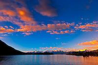 Mountains of the Boundary Ranges, near Petersburg, Southeast Alaska USA