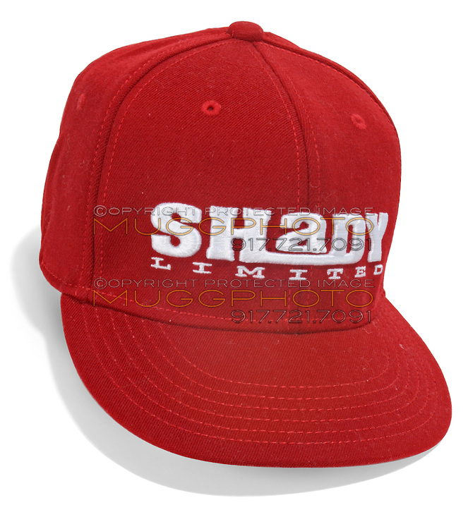 red shady limited ball cap