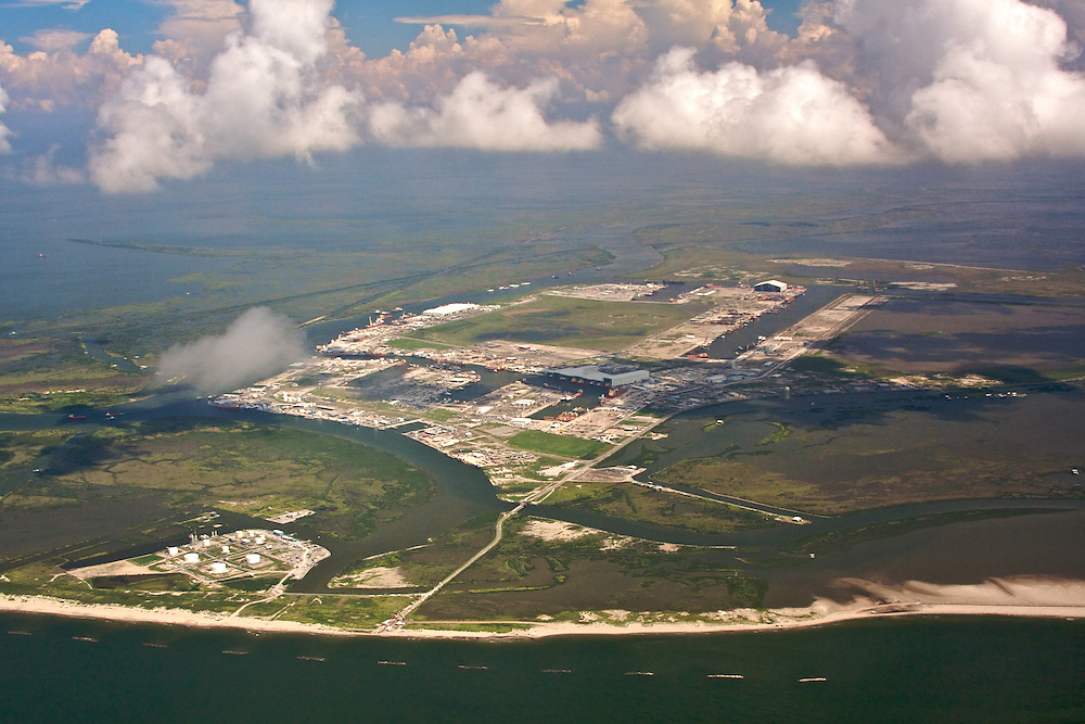 Port Fourchon, Louisiana, USA