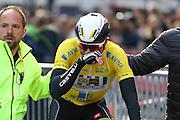 Edvald Boasson Hagen wins the Aviva Tour of Britain, Regent Street, London, United Kingdom on 13 September 2015. Photo by Ellie Hoad.