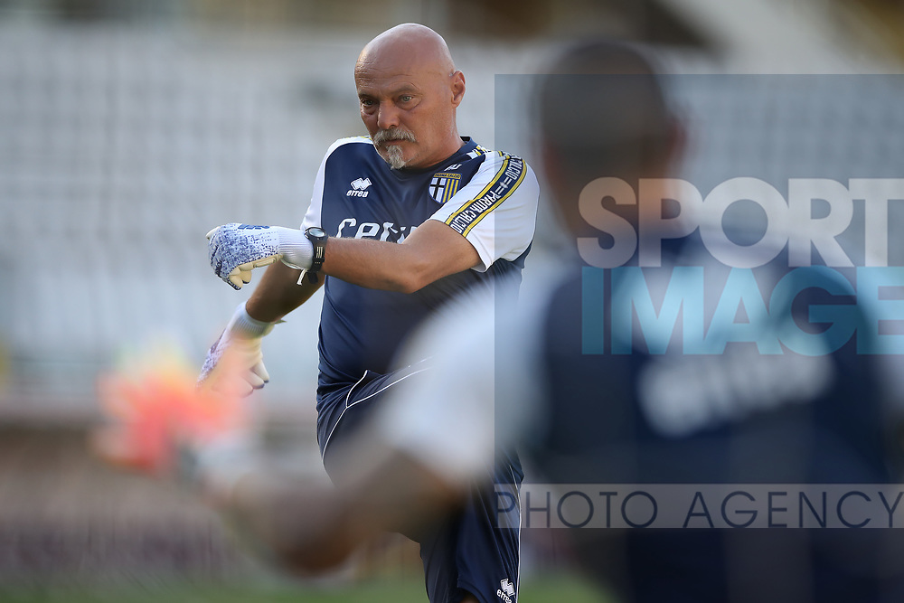 Parma Calcio's goalkeeping coach Alberto Bartoli during the Serie A match at Stadio Grande Torino, Turin. Picture date: 20th June 2020. Picture credit should read: Jonathan Moscrop/Sportimage