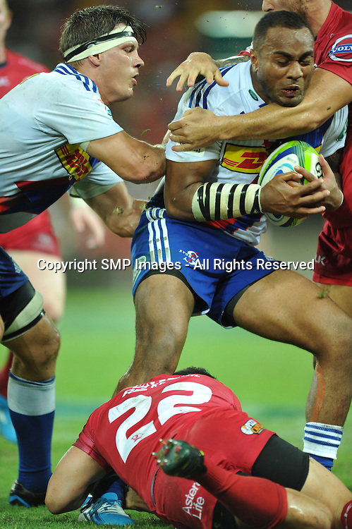SAILOSI TAGICAKIBAU - REDS V STORMERS - 2014 SUPER RUGBY ROUND 7 - 29March2014, action from round 7  of the Super Rugby competition, between the Queensland Reds and The Western Stormers, being played at Suncorp Stadium, Brisbane, Australia.  This image is for Editorial Use Only. Any further use or individual sale of the image must be cleared by application to the Manager Sports Media Publishing (SMP Images). PHOTO : Scott Davis SMP IMAGES