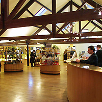 Dewars World of Whisky...15.1.2001.<br />Attn: Daily Record Features.<br />The Dewars World of Whisky shop at Aberfeldy Distillery,Aberfeldy, Perthshire.<br /><br />Pic by John Lindsay<br />Copyright Perthshire Picture Agency<br />Tel: 01738 623350 / 07775852112