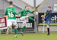 FODBOLD: Oliver Thycosen (Viborg FF) og Lucas Haren (FC Helsingør) under kampen i NordicBet Ligaen mellem Viborg FF og FC Helsingør den 24. marts 2019 på Energi Viborg Arena. Foto: Claus Birch