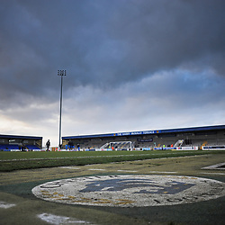TELFORD COPYRIGHT MIKE SHERIDAN A general view of the Deva Stadium during the Vanarama Conference North fixture between AFC Telford United and Chester at the 1885 Arena Deva Stadium on Saturday, December 21, 2019.<br /> <br /> Picture credit: Mike Sheridan/Ultrapress<br /> <br /> MS201920-035