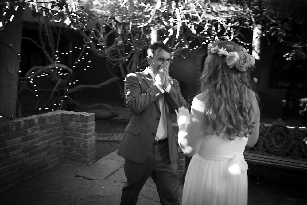 David and Liz's Northern New Mexico wedding at Swan Lake Ranch