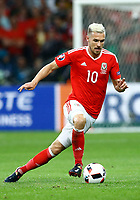 Aaron Ramsey (Wales)<br /> Lille 01-07-2016 Stade Pierre Mauroy Football Euro2016 Wales - Belgium / Galles - Belgio <br /> Quarter-finals. Foto Matteo Ciambelli / Insidefoto