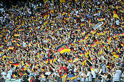 03.06.2010, Commerzbank-Arena, Frankfurt, GER, FIFA Worldcup Vorbereitung, Deutschland vs Bosnien-Herzegowina???, im Bild Deutschland jubelt! Foto: nph /  Roth / SPORTIDA PHOTO AGENCY