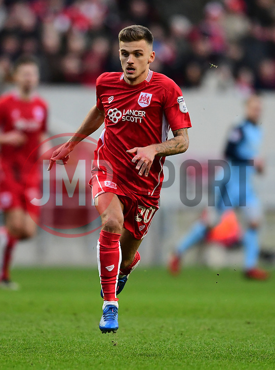 Jamie Paterson of Bristol City  - Mandatory by-line: Joe Meredith/JMP - 04/02/2017 - FOOTBALL - Ashton Gate - Bristol, England - Bristol City v Rotherham United - Sky Bet Championship