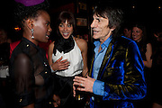 SHINGAI SHONIWA ( NOISETTES; ANA ARAUJO; RONNIE WOOD,  DSquared2 Launch of their Classic collection. Tramp. Jermyn St. London. 29 June 2011. <br /> <br />  , -DO NOT ARCHIVE-© Copyright Photograph by Dafydd Jones. 248 Clapham Rd. London SW9 0PZ. Tel 0207 820 0771. www.dafjones.com.