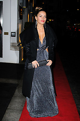 Ellen Rivas arrives at the Daily Mail Inspirational Woman of The Year Awards, London, Wednesday January 18, 2012. Photo By i-Images