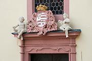 Detail Altes Schloss, Bad König, Odenwald, Naturpark Bergstraße-Odenwald, Hessen, Deutschland | detail old castle, Bad König, Odenwald, Hesse, Germany