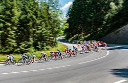 03.07.2017, Wien, AUT, Ö-Tour, Österreich Radrundfahrt 2017, 1. Etappe von Graz nach Wien (193,9 km), im Bild das Peleton // during the 1st stage from Graz to Vienna (193,9 km) of 2017 Tour of Austria. Wien, Austria on 2017/07/03. EXPA Pictures © 2017, PhotoCredit: EXPA/ JFK