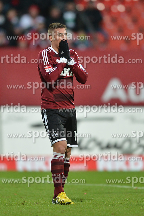 03.02.2013, easyCredit Stadion, Nuernberg, GER, 1. FBL, 1. FC Nuernberg vs Borussia Moenchengladbach, 20. Runde, im Bild Robert MAK (1.FC Nuernberg) aergert sich ueber eine vergebene Torchance. Freisteller // during the German Bundesliga 20th round match between 1. FC Nuernberg and Borussia Moenchengladbach at the easyCredit Stadium, Nuernberg, Germany on 2013/02/03. EXPA Pictures © 2013, PhotoCredit: EXPA/ Eibner/ Matthias Merz..***** ATTENTION - OUT OF GER *****