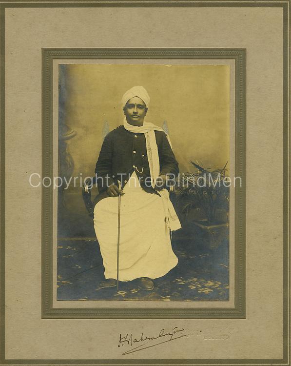 The Honourable Mr. K. Nadesan Aiyar. <br /> Trade Unionist,<br /> Mr. Shadagopan Collection.