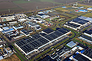 Nederland, Flevoland, Zeewolde, 20-01-2011; bedrijventerreinen Trekkersveld.Business park in the middle of the polder Vlevoland..luchtfoto (toeslag), aerial photo (additional fee required).copyright foto/photo Siebe Swart