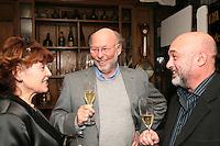 Frankie Brooker, Chris Wright CBE and Peter Lassman