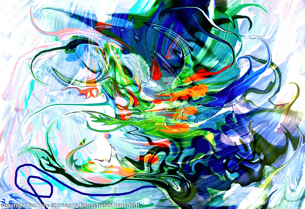 liquid moving elements like abstract mottled image with fluid shapes and lines