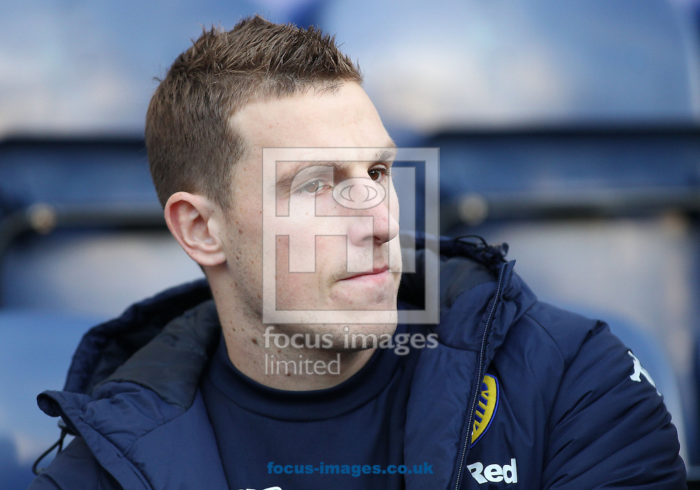 Chris Wood of Leeds United prior to the Sky Bet Championship match against Preston North End at Deepdale, Preston.<br /> Picture by Michael Sedgwick/Focus Images Ltd +44 7900 363072<br /> 26/12/2016