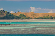 Turquoise waters of the blue lagoon ,Yasawas, Fiji, South Pacific