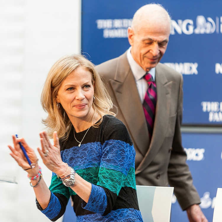 ING New York City Marathon: NYRR Hall of Fame induction, Mary Wittenberg, George Hirsch