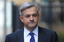 © Licensed to London News Pictures. 20/09/2012. London,UK.Former Energy Secretary Chris Huhne arrives at Southwark Crown Court .Huhne denies perverting the course of justice over a speeding case.Photo credit : Thomas Campean/LNP..