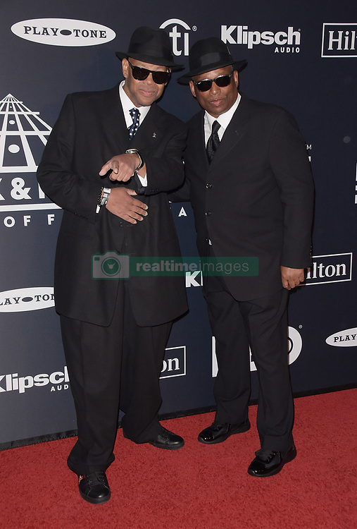 March 30, 2019 - Brooklyn, New York, USA - NEW YORK, NEW YORK - MARCH 29: Jimmy Jam, Terry Lewis attend the 2019 Rock & Roll Hall Of Fame Induction Ceremony at Barclays Center on March 29, 2019 in New York City. Photo: imageSPACE (Credit Image: © Imagespace via ZUMA Wire)