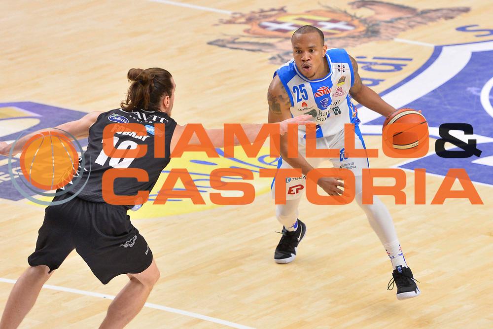 SASSARI 07 GENNAIO 2018<br /> Banco di Sardegna Dinamo Sassari - Dolomiti Energia Aquila Trento<br /> Legabasket Serie A LBA PosteMobile 2017/2018<br /> NELLA FOTO William Hatcher<br /> FOTO CIAMILLO - Luigi Canu