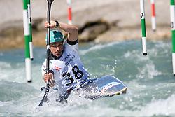 Ivan SILVA of Portugal during the Kayak Single (MK1) Mens Semi Final race of 2019 ICF Canoe Slalom World Cup 4, on June 30, 2019 in Tacen, Ljubljana, Slovenia. Photo by Sasa Pahic Szabo / Sportida