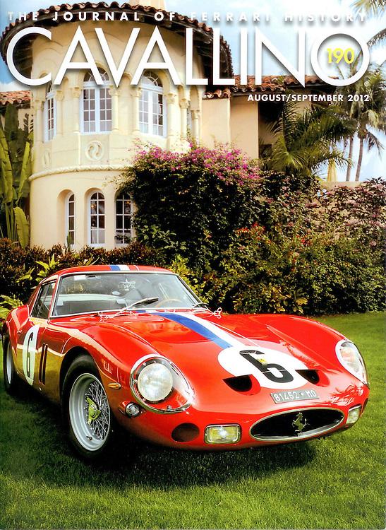 Magazine Cover - 250 GTO