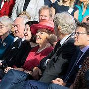 NLD/Amsterdam/20120922 - Koningin Beatrix opent het Vernieuwde Stedelijk Museum , Johan Remkes, Ann Goldstein Koningin Beatrix, Eberhard van der Laan, Prins Constantijn en prinses Laurentien
