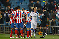 12.12.2012 SPAIN - Copa del Rey 12/13 Matchday 8th  match played between Atletico de Madrid vs Getafe C.F. (3-0) at Vicente Calderon stadium. The picture show Jaime Gavilan Martinez (Midfielder of Getafe)