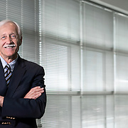 Portrait of Director, Department of Cardiovascular Medicine Dr. Leslie W. Miller, at USF.