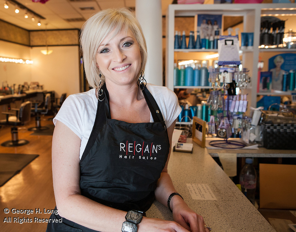 Regan's Hair Salon for LiFt Consulting