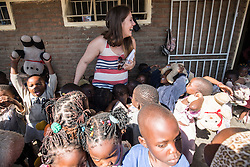 Visit to St Mary's Chemusa Under 6 centre in Blantyre. Three-day trip to Malawi with the charity Mary's Meals, June 26-29. 2016.