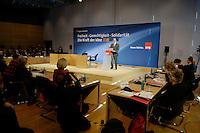 19 MAY 2005, BERLIN/GERMANY:<br /> Franz Muentefering, SPD Parteivorsitzender, haelt eine Rede, zur Eroeffnung des 4. Programmforums der SPD zur Fortschreibung des SPD  Grundsatzprogramms, Willy-Brandt-Haus<br /> IMAGE: 20050519-01-010<br /> KEYWORDS: Franz Müntefering, speech, Übersicht, Uebersicht
