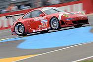 June 13th 2010, 24h Le Mans, Porsche 911 GT3 RSR, BMS Scuderia Italia Spa Team, Timo Scheider (DEU)