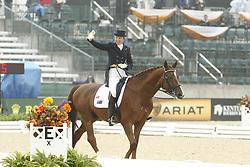SANNA Rachael, Jayree Alabaster<br /> Kentucky - Alltech FEI WEG 2010<br /> /Stefan Lafrentz
