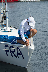Eric Flaguel, Equipe Sonar, Voile at Rio 2016 Paralympic Games, Brazil