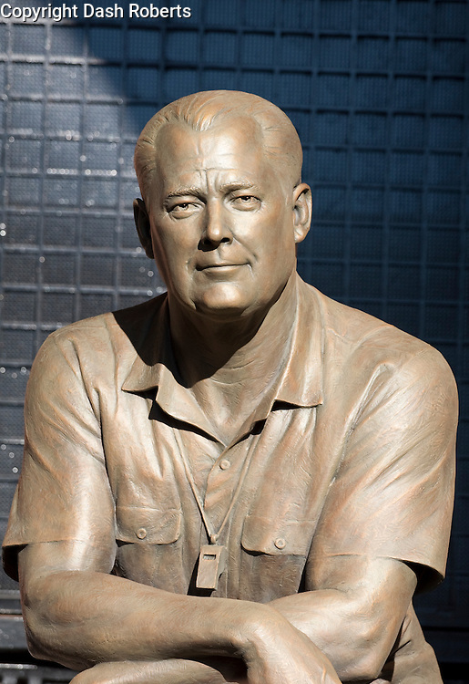 General Robert Neyland statue located at Neyland Stadium in Knoxville, Tn. sculpted by Blair Buswell.