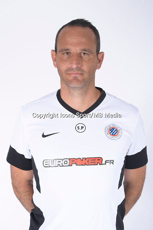 Stephane PAGANELLI - 23.07.2014 - Portraits officiels Montpellier - Ligue 1 2014/2015<br /> Photo : Icon Sport